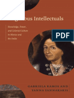 Indigenous Intellectuals edited by Gabriela Ramos and Yanna Yannakakis
