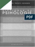 Dictionar de Psihologie Doron-Parot OCR Octav Iasi