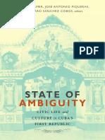 State of Ambiguity edited by Steven Palmer, José Antonio Piqueras, and Amparo Sánchez Cobos
