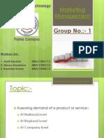 Marketing Management Assignment Final