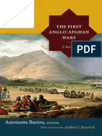 The First Anglo-Afghan Wars edited by Antoinette Burton
