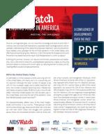 2014 AIDSWatch AIDS Overview Fact Sheet