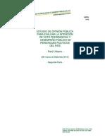 CPI Intención de Voto Presidencial 2016