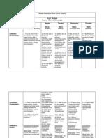 Weekly Scheme of Work Bs