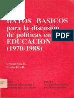 Datos Educaion 1970.1988, CCOX.txt759