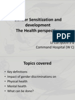 Gender Sensitization and Development