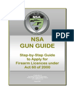 NSA Complete Gun Guide Aug 2007