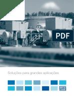 WEG Solucoes Para Grandes Aplicacoes 641 Catalogo Portugues Br