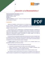 Programa Taller I Bioestadística