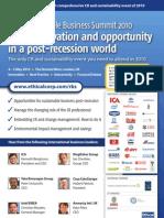 Responsible Business 2010 Brochure