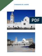 Les mosquées de l'Algérie