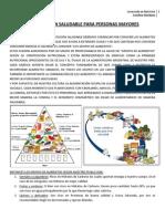 Resumen Charla Alimentacion Saludable PDF