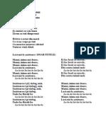 Cantece de Pasti
