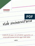 Cuadernillo Vida Universitaria Sede Andina UNRN 2014
