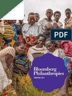 Bloomberg Philanthropies Annual Report 2013-2014