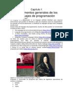 1.3.1 Lenguaje de Programacion