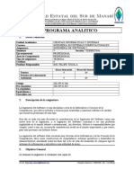 Syllabus de Ing. Del Software I