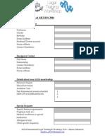 Registration Form of AILT&W 2014 (1)