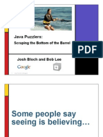 BlochLee-JavaPuzzlers