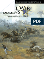 The Civil War Begins Opening 1861