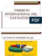Comercio Internacional Del Gas Natural
