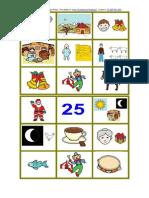191 Bingo Navideño - Letras de los Villancicos