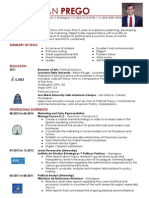 Jose Adan Prego Resume April2014
