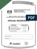 Cadernodequestoes - Oficial Escrevente - 80q