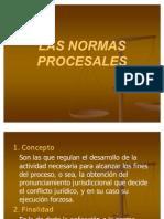 38649424 Las Normas Procesales