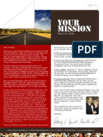 Grace & Glory Ministries - March 08 Newsletter