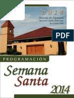 Semana Santa Santa Ana Centro Chia 2014