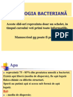 fiziologie bacteriana