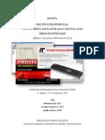 Modul Pelatihan Praktikum Mikrokontroler Dengan Software Proteus
