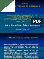 2. COMPONENTES DE DISEÑO URBANO