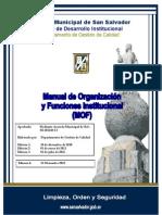 v4 Manual de Organizacion y Funciones Mof 21 Dic 2012