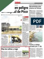 Inicio Del Plan de Cultivo y Riego en Pisco-Diario Correo 02-05-2013