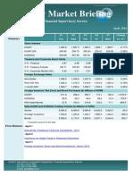 Weekly Market Briefing (April 7, 2014)