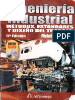 Ingeniería Industrial Métodos, Estándares y Diseño del Trabajo - Benjamin Niebel