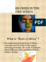 Hunger Crisis in the Horn Africa