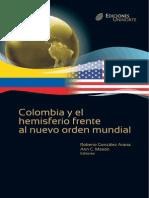 Colombia y El Hemisferio Frente Al Nuevo Orden Mundial