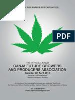 Ganja Launch Booklet