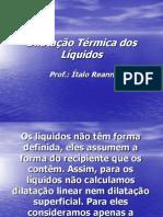 Dilatacao Termica Dos Liquidos