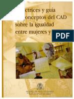 Directrices y guía de conceptos del CAD sobre igualdad entre mujeres y hombres