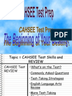 cahsee best review latest 2013 2014powerpoint