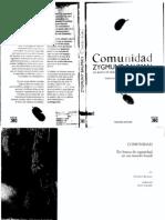 Comunidad Zygmunt Bauman