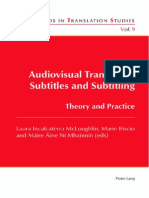 Audiovisual Translation Subtitles and Subtitling Intro