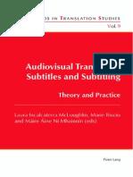 Audiovisual Translation Subtitles and Subtitling Intro