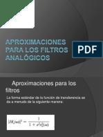 Aproximaciones para los filtros analógicos