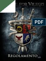 Battle for Vilegis - Manuale Di Gioco 1.9 Con Segnalibri