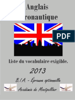 ANGLAIS Vocabulaire -2014